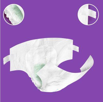 Canped Belbantlı Tekstil Yüzeyli Hasta Bezi Ekstra Küçük (XS) - 30 Adet