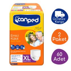 Canped Emici Külot Ekstra Büyük Boy (XL) - 60 Adet - Thumbnail