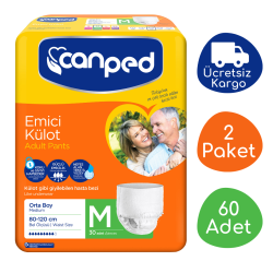 Canped - Canped Emici Külot Orta Boy (M) - 60 Adet