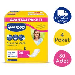 Canped - Canped Mesane Pedi Avantaj Paket (Normal) - 80 Adet