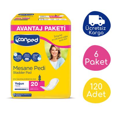 Canped Mesane Pedi Avantaj Paket (Yoğun) - 120 Adet