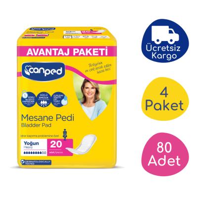 Canped Mesane Pedi Avantaj Paket (Yoğun) - 80 Adet