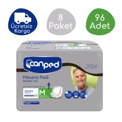 Canped - Canped Mesane Pedi Erkek (M) - 96 Adet