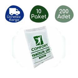 Haspet - Haspet Comfort Temizlik Lifi (10 Paket - 200 Adet)