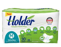 Holder - Holder Belbantlı Yetişkin Hasta Bezi Orta (M) 30 Adet