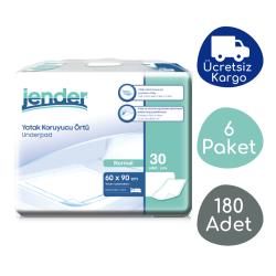 Jender - Jender Yatak Koruyucu Örtü (60x90) - 180 Adet