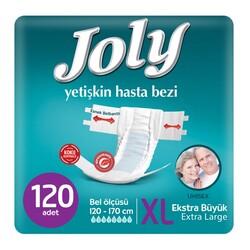 Joly - Joly Belbantlı Hasta Bezi Ekstra Large (Ekstra Büyük Boy) 120 Adet
