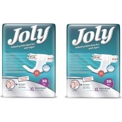 Joly - Joly Belbantlı Hasta Bezi Ekstra Large (Ekstra Büyük Boy) 60 Adet