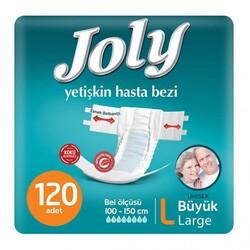 Joly - Joly Belbantlı Hasta Bezi Large (Büyük Boy) 120 Adet