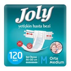 Joly - Joly Belbantlı Hasta Bezi Medium (Orta Boy) 120 Adet