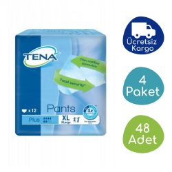 Tena - TENA 6 Damla Plus Emici Külot Ekstra Büyük (XL) - 48 Adet